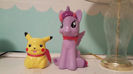 My Twilight Sparkle And Pikachu Coin Banks