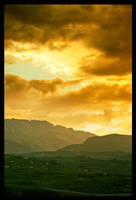 Gold landscape by leonard-ART