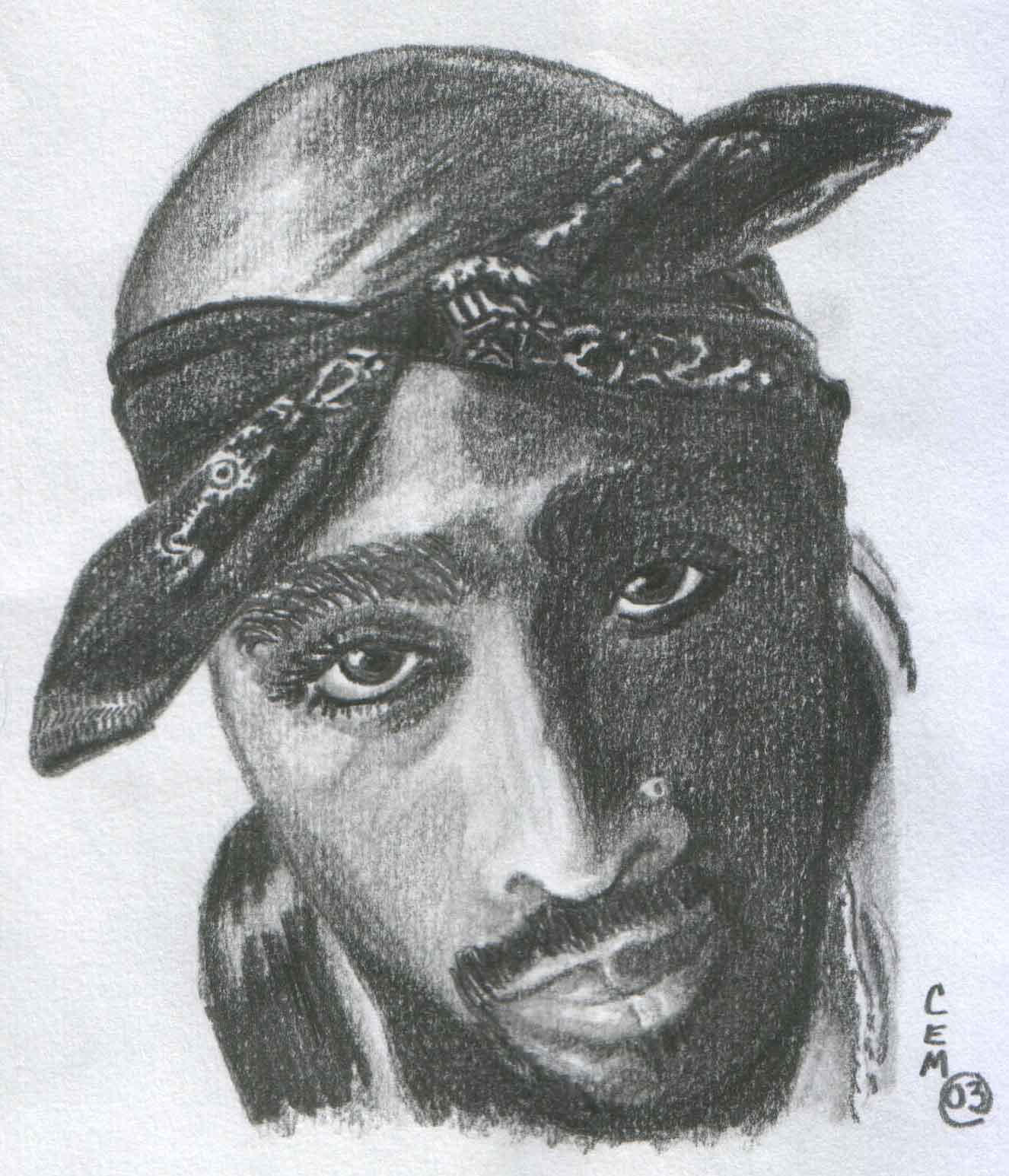Tupac by colettemr on DeviantArt