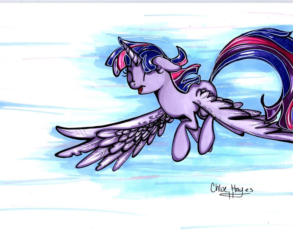 Breezy Flight by frostykat13