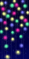 Pastel Stars Custom Box Background