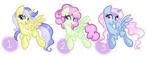 Alicorn Adopts (50 points each) CLOSED by frostykat13