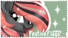 Festive Flags Stamp by frostykat13