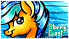 Stormy Coast Stamp by frostykat13