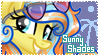 Sunny Shades Stamp by frostykat13
