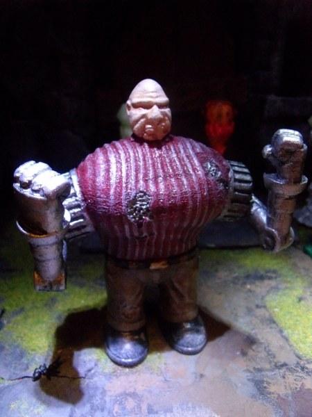 Cyber Pinhead mini statue by Lee-Burbridge