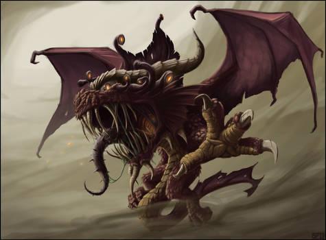 Half-Dragon Beholder