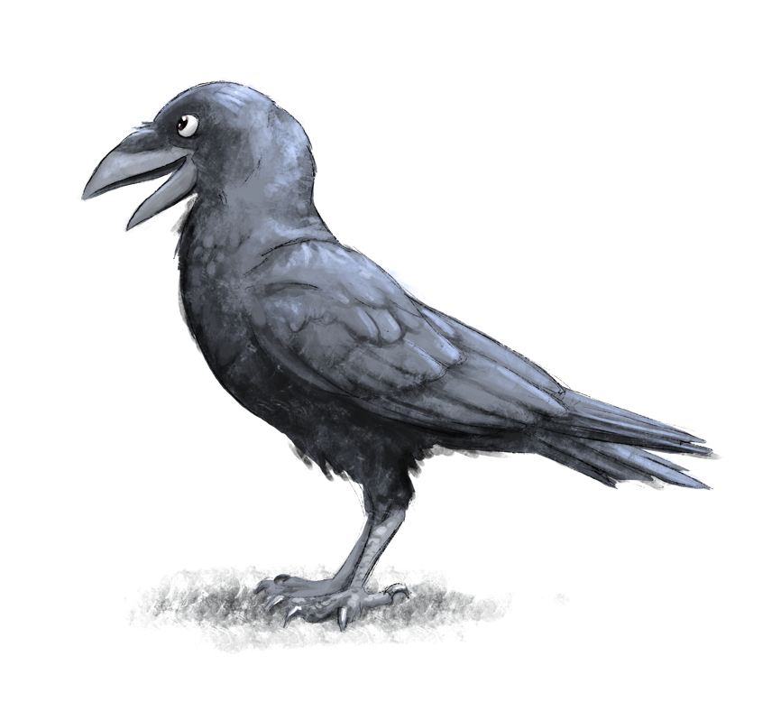 Friendly Crow by SPipes