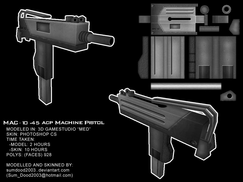 MAC-10 SMG by SumDood2003 on DeviantArt