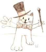 Cabaret Cat by SumDood2003