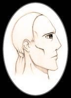 Profile Sketch by SumDood2003