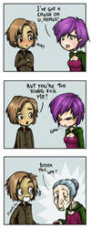 Remus and Dora by Noody