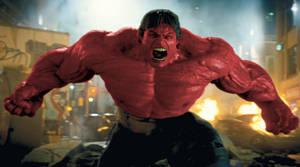 Red Hulk Movie by bobafettrocks
