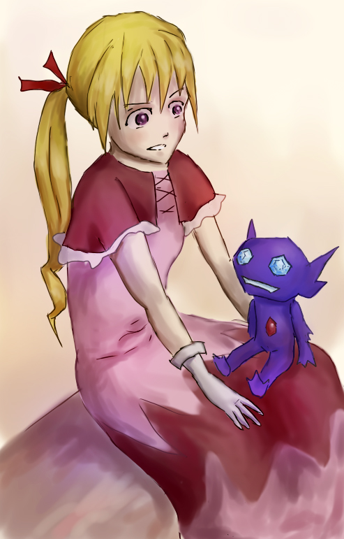 Biscuit and Sableye by WhiteApocalipsys