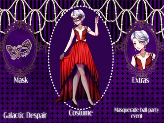 G-D Chouko Masquerade outfit by MustacheSkulls