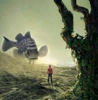 Giant fish sighting