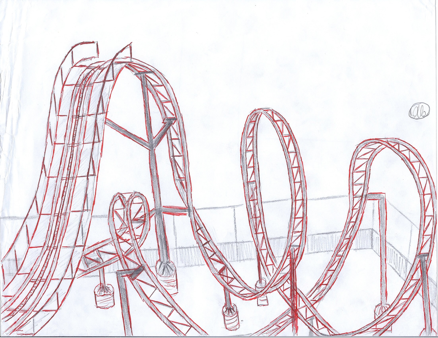 Theme Park and Carnival Drawing's by octogoblos on DeviantArt