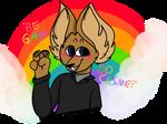 gregg says gay rights by AlchemyFeline