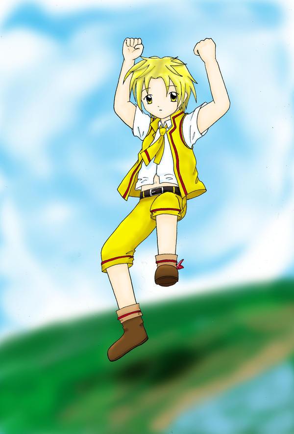 Jump Time : Yuki by iteza-ryuu