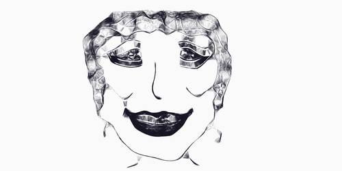 Self portrait by lilbit-annoy-n