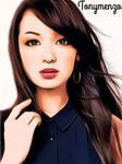 Model asian girl