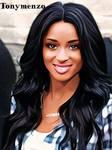 Ebony smile