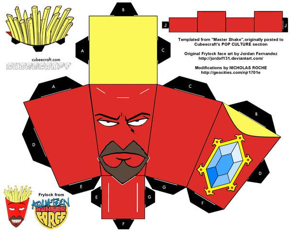 Cubee ATHF Frylock by njr75003