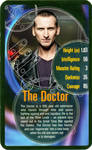 TOP TRUMPS 9th DOCTOR WHO Card