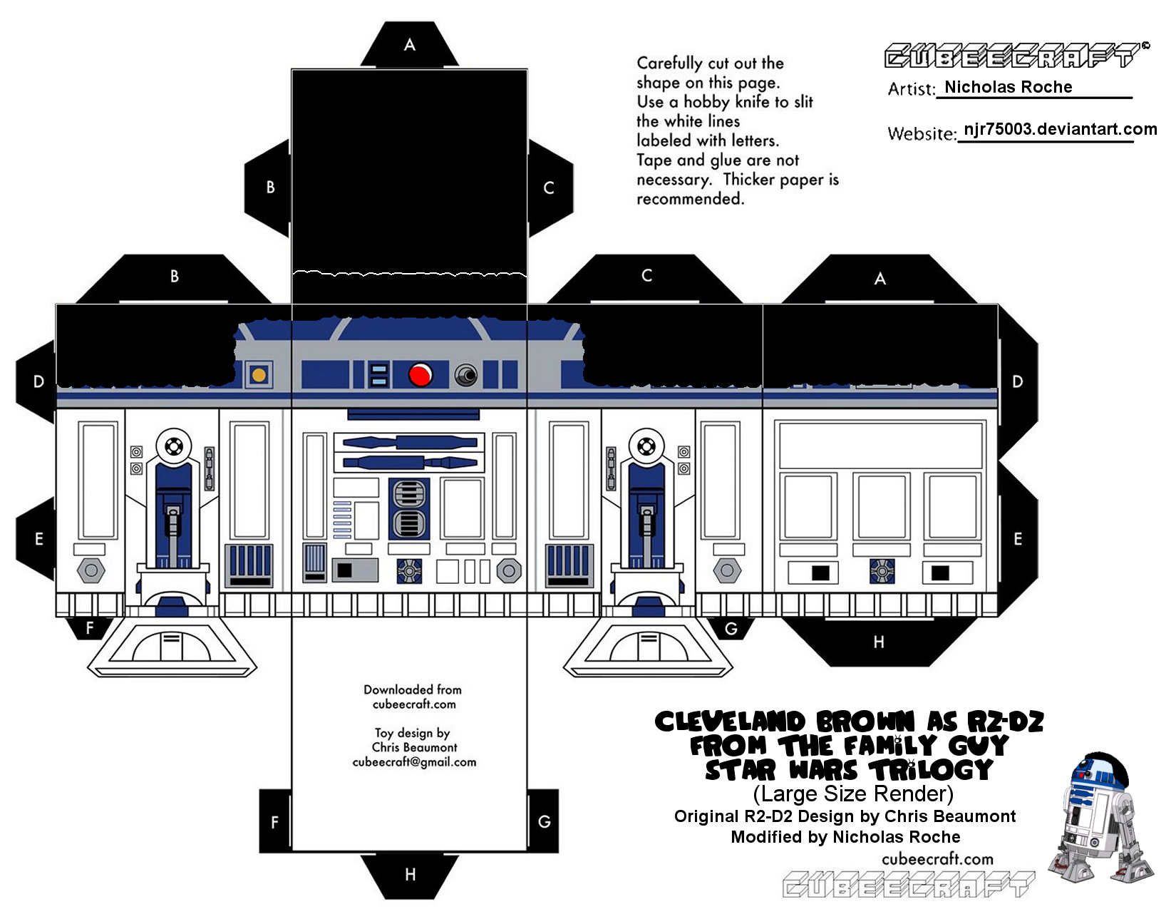 Images For > Cubeecraft Star Wars