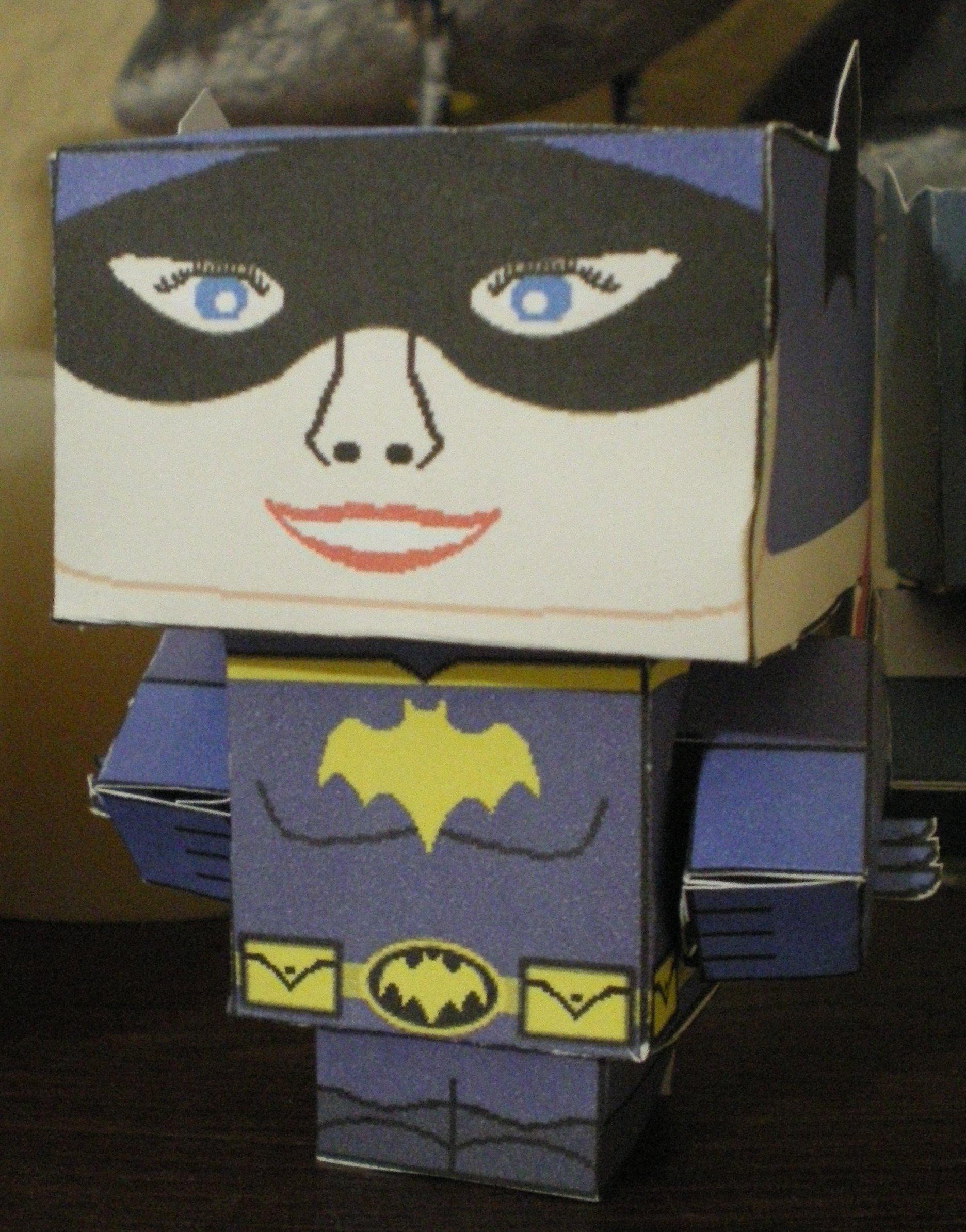 Cubee BATMAN 60'S TV Batgirl by njr75003