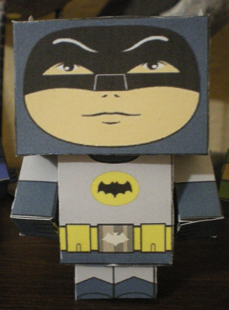 Cubee BATMAN 60'S TV Batman by njr75003