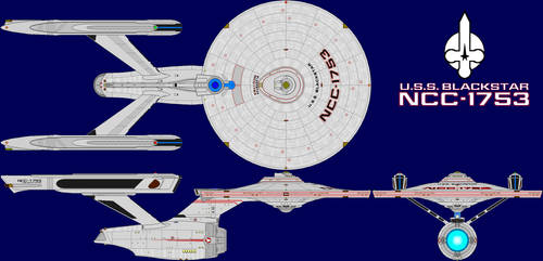 USS BLACKSTAR NCC-1753 Refit