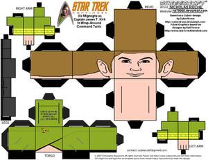 Cubeecraft STAR TREK CONTINUES CAPT Kirk Variant