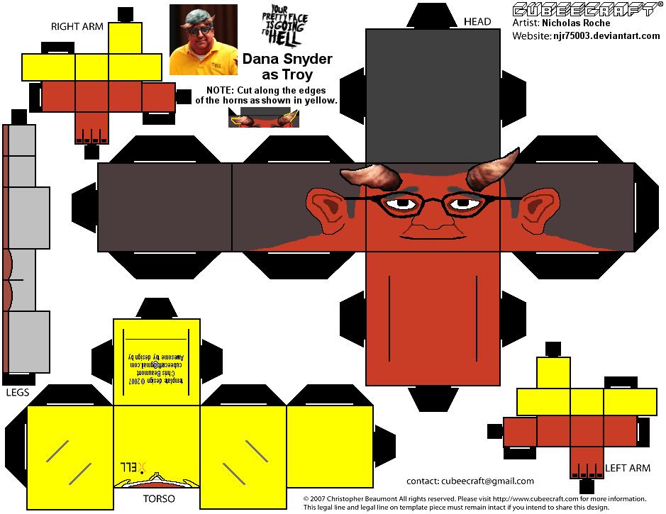 CubeeCraft YPFIGTH Troy (Dana Snyder) by Njr75003 by njr75003
