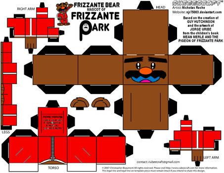 CubeeCraft FRIZZANTE BEAR from MEAN MERLE