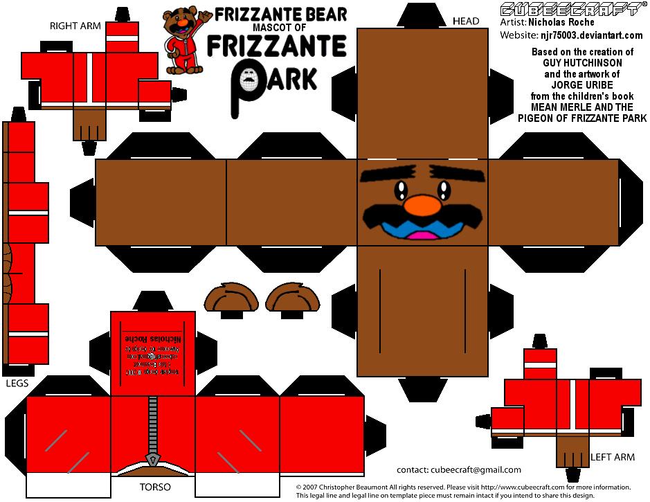 CubeeCraft FRIZZANTE BEAR from MEAN MERLE by njr75003