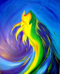Moonlit Mahi-mahi by Phoenix-Lord