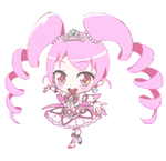 Chibi haruka hani/pink princess (PNG)