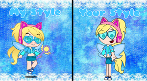 My style and your style (For StarButterAlia)