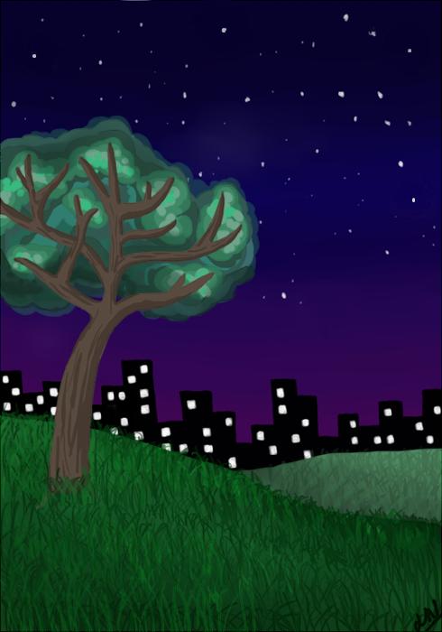 Starry Skies by nickknax