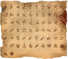 Cthulhuian Font v2  with link to TTF Font File