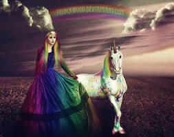 Rainbow Paradise by tylockwood