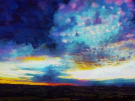 Midsummer Morning - Ilkley Moor