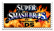 SSB4 Stamp by Spine-TheHedgehog