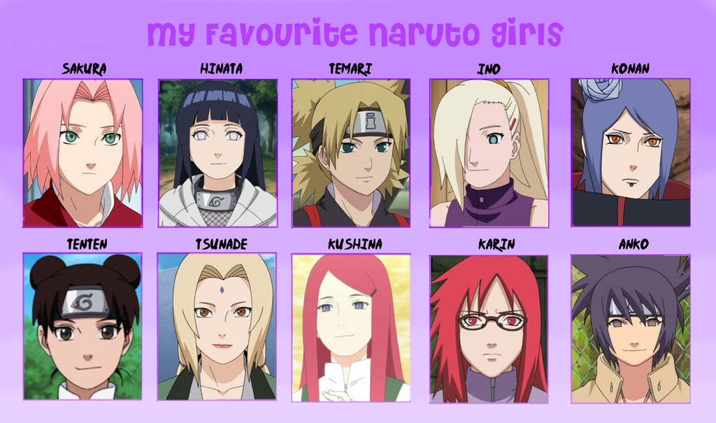 from Louie naruto lady characters nude