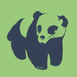 panda by minakim