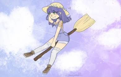 Kawaii witch by PandaGod76