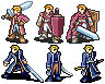 FE7 Lloyd and Linus sprites