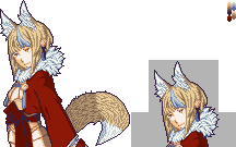 Fire Emblem Fates Kinu / Selkie Halfbody by White-wolf8