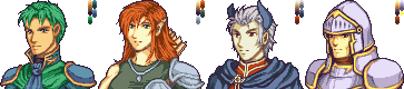 FE Horatio/Milly/Andriel/Wallis Mugs by White-wolf8